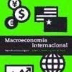 Libros: MACROECONOMÍA INTERNACIONAL. Lote 125932614