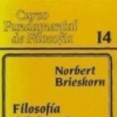 Libros: FILOSOFÍA DEL DERECHO. Lote 125933100