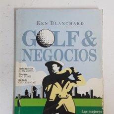 Libros: LIBRO GOLF Y NEGOCIOS DE KEN BLANCHARD. Lote 127651647