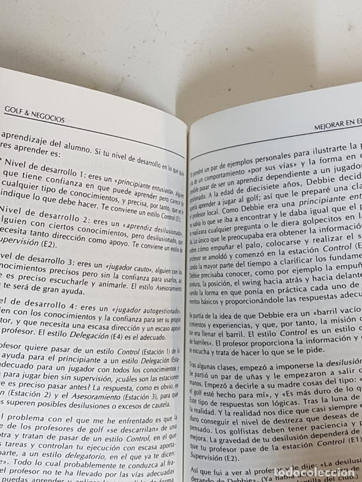 Libros: Libro Golf y Negocios de Ken Blanchard - Foto 2 - 127651647