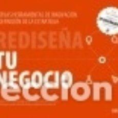 Libros: REDISEÑA TU NEGOCIO. Lote 125909724