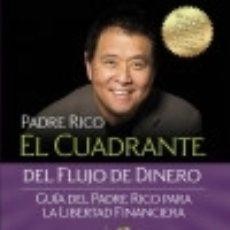 Libros: EL CUADRANTE DEL FLUJO DE DINERO. Lote 70812157
