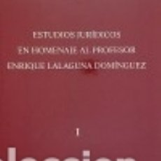 Libros: ESTUDIOS JURÍDICOS EN HOMENAJE AL PROFESOR ENRIQUE LALAGUNA DOMÍNGUEZ PUBLICACIONS DE LA UNIVERSITAT. Lote 70843303