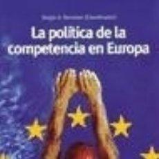 Libros: POLITICA DE LA COMPETENCIA EN EUROPA, LA. Lote 70778487