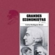 Libros: GRANDES ECONOMISTAS. Lote 70845847