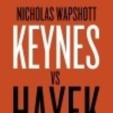 Livros: KEYNES VS HAYEK BOOKET. Lote 70901139