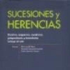 Libros: SUCESIONES Y HERENCIAS. Lote 111088138