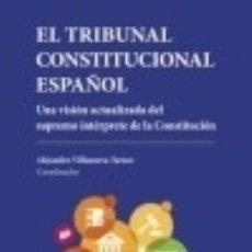 Libros: EL TRIBUNAL CONSTITUCIONAL ESPAÑOL. Lote 111862356
