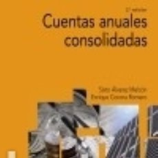 Libros: CUENTAS ANUALES CONSOLIDADAS. Lote 70843895