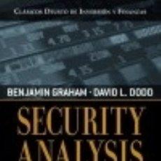 Livros: SECURITY ANALYSIS DEUSTO. Lote 74758326