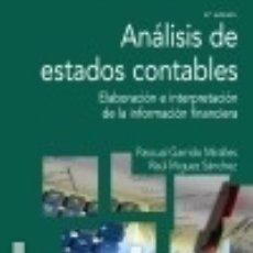 Libros: ANÁLISIS DE ESTADOS CONTABLES. Lote 97337760