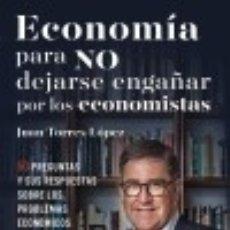 Libros: ECONOMÍA PARA QUIENES NO ENTIENDEN A LOS ECONOMISTAS DEUSTO. Lote 70901055