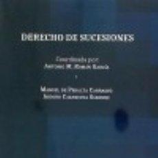 Libros: DERECHO DE SUCESIONES EDITORIAL DYKINSON, S.L.. Lote 70699185