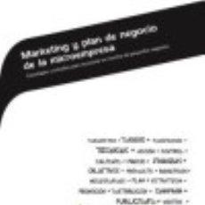 Libros: MARKETING Y PLAN DE NEGOCIO DE LA MICROEMPRESA : ESTRATEGIAS Y ESTUDIOS PARA LA PUESTA EN MARCHA DE. Lote 70611669
