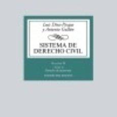 Libros: SISTEMA DE DERECHO CIVIL: VOLUMEN IV (TOMO 2) DERECHO DE SUCESIONES. Lote 96805882