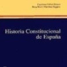 Libros: HISTORIA CONSTITUCIONAL. Lote 70754111