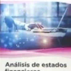 Libros: ANÁLISIS DE ESTADOS FINANCIEROS MARCOMBO. Lote 72065442