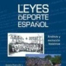 Libros: LAS LEYES DEL DEPORTE ESPAÑOL. Lote 128603531
