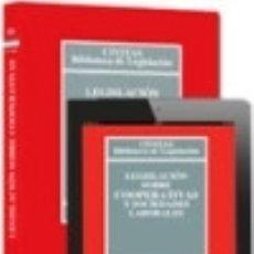 Libros: LEGISLACIÓN SOBRE COOPERATIVAS Y SOCIEDADES LABORALES (PAPEL + E-BOOK). Lote 128861230
