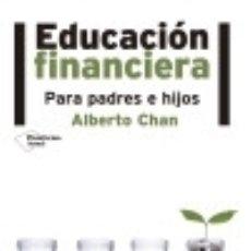 Libros: EDUCACIÓN FINANCIERA. Lote 133800891