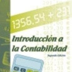 Libros: INTRODUCCIÓN A LA CONTABILIDAD. Lote 133892746