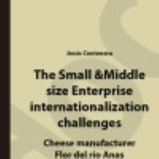 Libros: THE SMALL & MIDDLE SIZE ENTERPRISE INTERNATIONALIZATION CHALLENGES. Lote 136688210