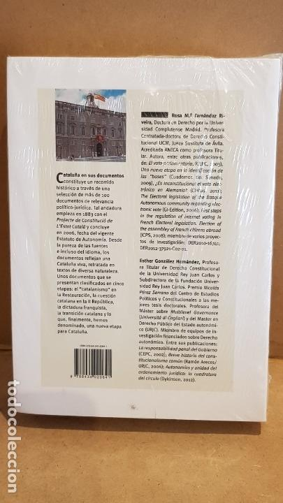 Libros: CATALUÑA EN SUS DOCUMENTOS / ROSA Mª FERNÁNDEZ-ESTHER GONZÁLEZ / ED / CENTRO DE ESTUDIOS POLÍTICOS. - Foto 2 - 147853778