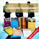 Libros: COLECCIÓN DEUSTO LÍDERES DEL MANAGEMENT. 15 LIBROS - VAR AUTORE (CARTONÉ) DESCATALOGADO!!! OFERTA!!!. Lote 150493454