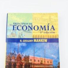 Libros: PRINCIPIOS DE ECONOMIA 3ªEDICION N.GREGORY MANKIW. Lote 155382750