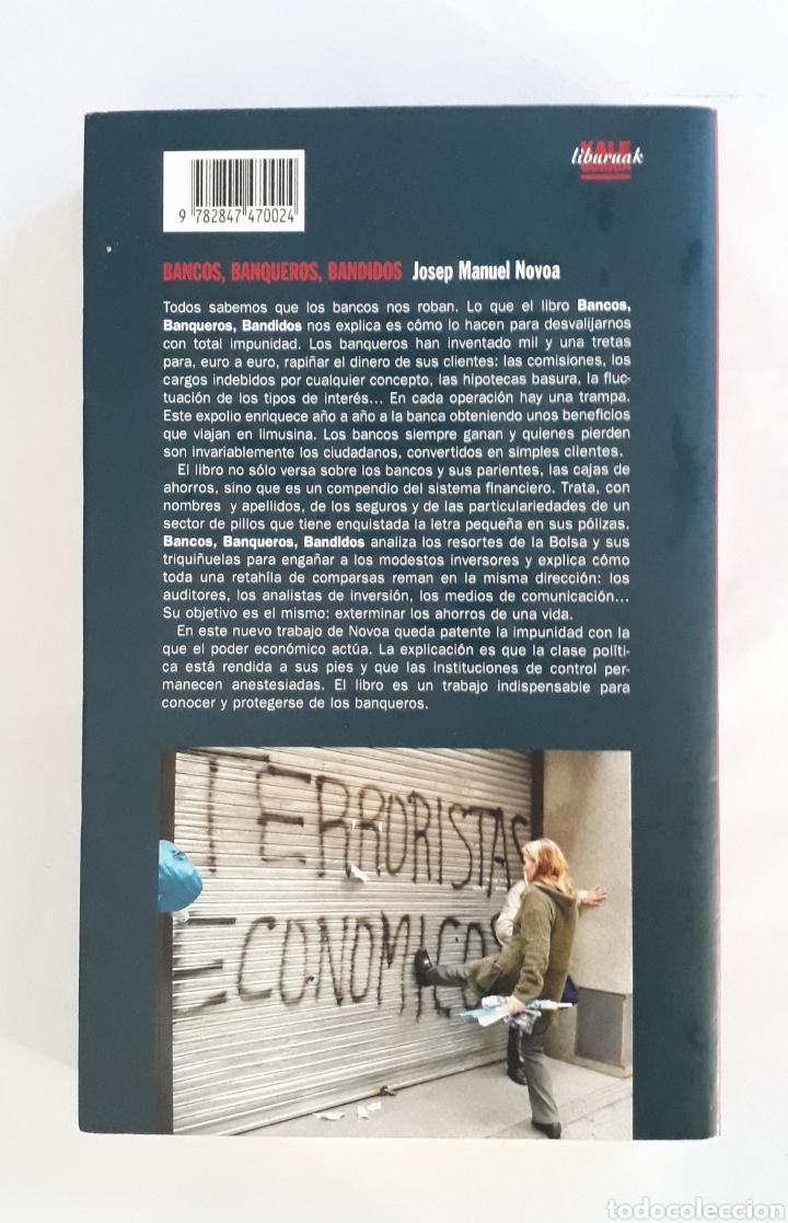 Libros: Bancos, banqueros, bandidos - Foto 2 - 166812728