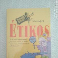 Libros: ETIKOS SILVIA AGULLÓ HADA'S BANK PRECINTADO. Lote 168917029