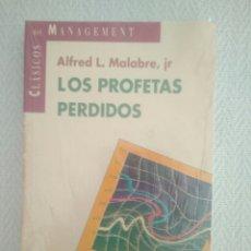 Libros: LOS PROFETAS PERDIDOS ALFRED L.MALABRE,JR. PRECINTADO NUEVO. Lote 168918328