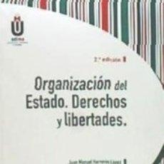 Libros: ORGANIZACIÓN DEL ESTADO. DERECHOS Y LIBERTADES. Lote 172009458