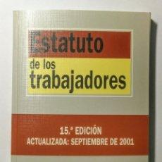 Libros: ESTATUTO DE LOS TRABAJADORES. 2001. NUEVO.. Lote 178627198