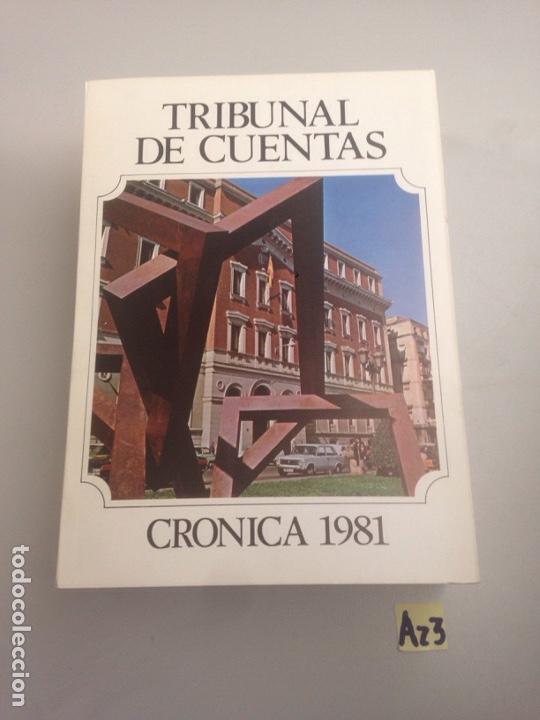 TRIBUNAL DE CUENTAS CRÓNICA DE 1981 (Libros Nuevos - Ciencias, Manuales y Oficios - Derecho y Economía)