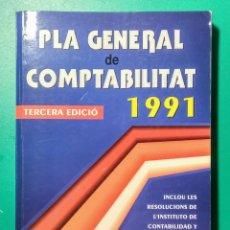 Libros: PLA GENERAL DE COMPTABILITAT 1991. NUEVO.. Lote 178913027