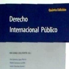 Libros: DERECHO INTERNACIONAL PÚBLICO 5ªED. Lote 179950578