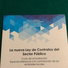 Libros: LA NUEVA LEY DE CONTRATOS DEL SECTOR PÚBLICO. Lote 182547101