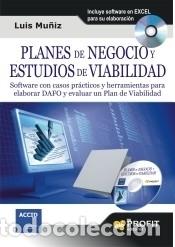PLANES DE NEGOCIO Y ESTUDIOS DE VIABILIDAD (Libros Nuevos - Ciencias, Manuales y Oficios - Derecho y Economía)