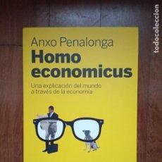 Libros: ANXO PENALONGA - HOMO ECONOMICUS. Lote 183361158