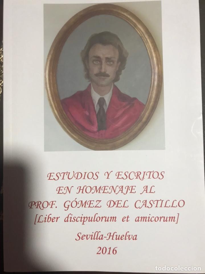 ESTUDIOS Y ESCRITOS EN HOMENAJE AL PROFESOR GÓMEZ DEL CASTILLO (Libros Nuevos - Ciencias, Manuales y Oficios - Derecho y Economía)