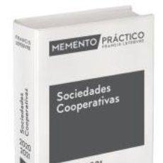 Libros: MEMENTO PRÁCTICO SOCIEDADES COOPERATIVAS 2020-2021. Lote 184090357