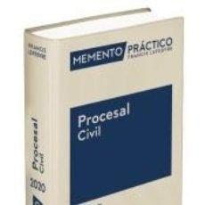 Libros: MEMENTO PRÁCTICO PROCESAL CIVIL 2020 (PRE-VENTA. PREVISTA PUBLICACIÓN 28 NOVIEMB. Lote 186386787