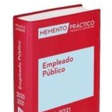 Libros: MEMENTO EMPLEADO PÚBLICO 2020-2021. Lote 186386836