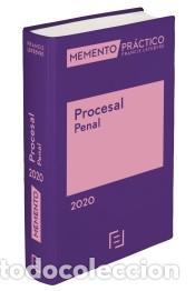 MEMENTO PRÁCTICO PROCESAL PENAL 2020. (PRE-VENTA. PREVISTA PUBLICACIÓN 28 NOVIEM (Libros Nuevos - Ciencias, Manuales y Oficios - Derecho y Economía)