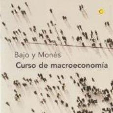 Libros: CURSO DE MACROECONOMÍA, 2ª ED.. Lote 188485247