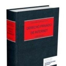 Libros: DERECHO PRIVADO DE INTERNET (FORMATO DÚO). Lote 188568453