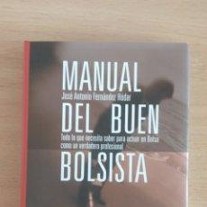Libros: MANUAL DEL BUEN BOLSISTA. Lote 189414051