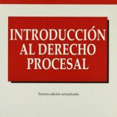 Libros: INTRODUCCIÓN AL DERECHO PROCESAL (FAUSTINO CORDÓN) EUNSA 1998. Lote 190322933