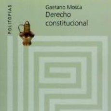 Libros: DERECHO CONSTITUCIONAL. Lote 191140037
